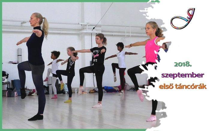 Első táncórák