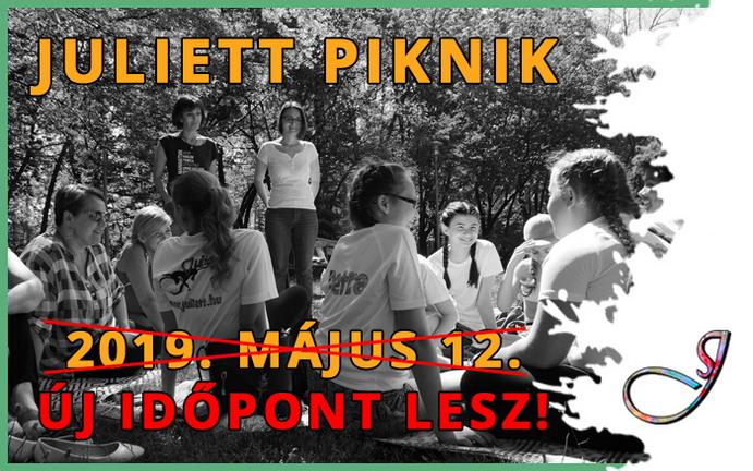 Juliett Piknik – ÚJ IDŐPONT LESZ!