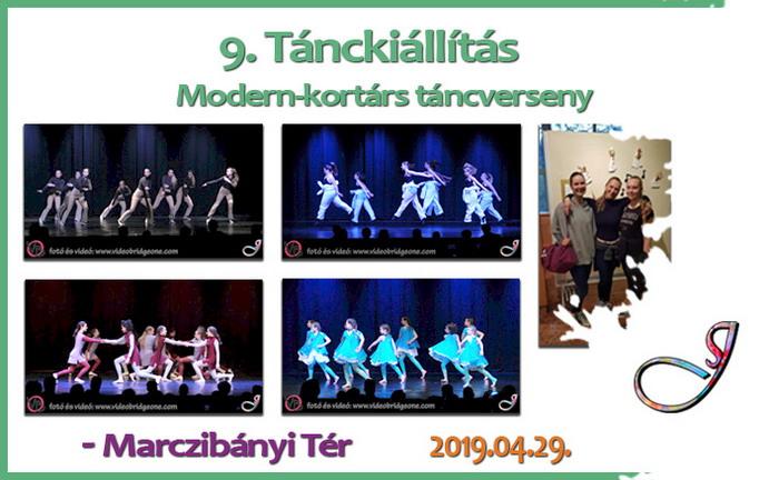 9. Tánckiállítás – Modern-kortárs táncverseny
