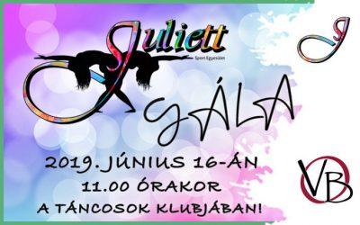 Juliett Gála 2019!