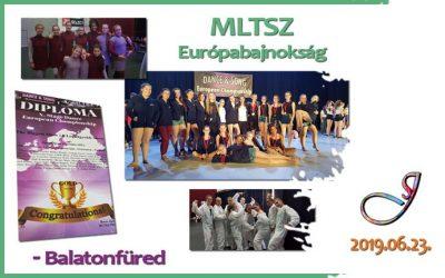Eredményes MLTSZ Európabajnokságot zártunk! 👍😊