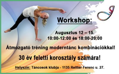 Workshopok 30+ korosztálynak!