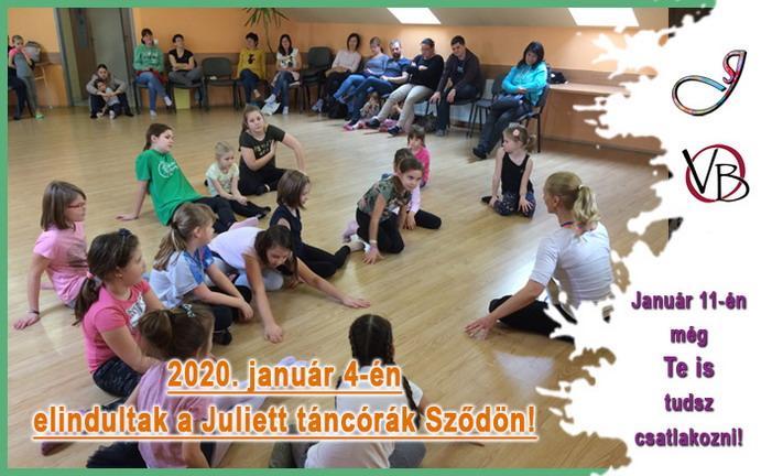 Elindultak a Juliett táncórák Sződön