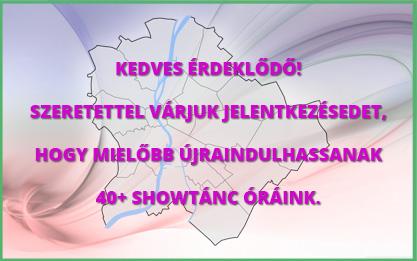 Juliett csoportok - Showtánc